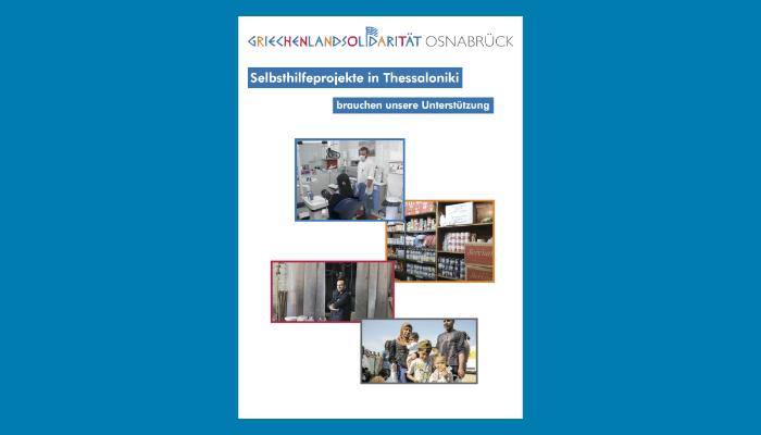 Solibroschüre Projekte Griechenlandsolidarität